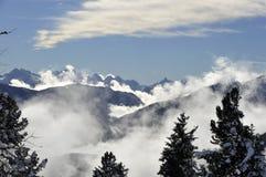 dolomity Włochy Południowy Tyrol Fotografia Stock