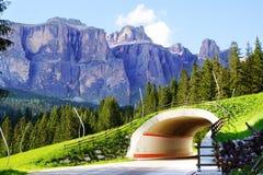 Dolomity. Włochy Zdjęcia Royalty Free