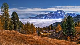 dolomity Włochy Zdjęcie Royalty Free