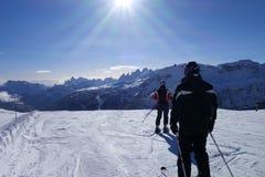 Dolomti-Alpen Italien Lizenzfreie Stockbilder