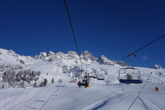 Dolomti-Alpen Italien Stockbild