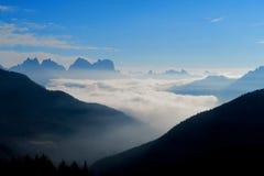 Dolomti-Alpen Italien Stockfoto