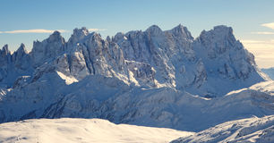 Dolomti alps italy Royalty Free Stock Images