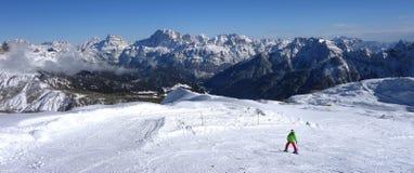Dolomti alps italy Stock Photo
