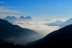 Dolomti alps italy. A view from falcade veneto italy of dolomiti Stock Photo