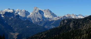 Dolomti alps italy. A view from falcade veneto italy of dolomiti Royalty Free Stock Image