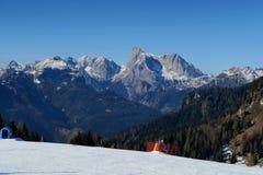 Dolomti alps italy. A view from falcade veneto italy of dolomiti Stock Image