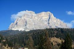 Dolomti alps italy. A view from falcade veneto italy of dolomiti Royalty Free Stock Photo