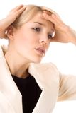 Dolor de cabeza Imagen de archivo