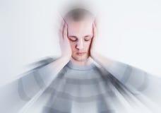 Dolor de cabeza Imágenes de archivo libres de regalías