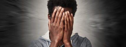 Dolor de cabeza Fotografía de archivo libre de regalías