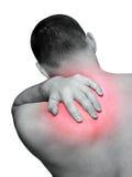 Dolor de espalda Imagen de archivo libre de regalías