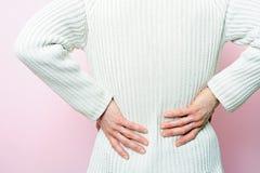 Dolor de espalda Imagen de archivo