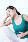 Dolor de estómago Foto de archivo libre de regalías