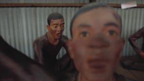 Dolor de la muerte del campo de concentración que sufre Phu Quoc metrajes
