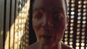 Dolor de la muerte del campo de concentración que sufre Phu Quoc almacen de video