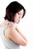 Dolor del cuello Foto de archivo