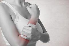 Dolore del braccio Immagini Stock Libere da Diritti