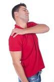 Dolore della spalla Immagine Stock Libera da Diritti