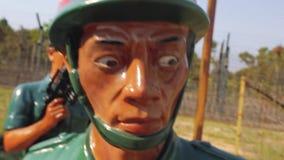 Dolore di morte del campo di concentramento che soffre Phu Quoc stock footage