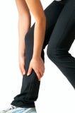 Dolore di muscolo - ferita immagine stock libera da diritti
