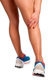 Dolore nella gamba Immagini Stock