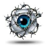 Dolore oculare illustrazione di stock
