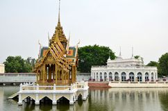 Dolore Royal Palace di colpo a Ayutthaya, Tailandia Fotografia Stock Libera da Diritti