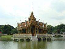 Dolore Royal Palace, Tailandia di colpo Fotografia Stock Libera da Diritti