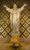 dolores Francisco Jesus misi San statua Zdjęcie Royalty Free