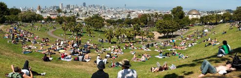 Dolores Park royalty free stock photos