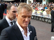 Dolph Lundgren At The Expendables Premiere Royalty Free Stock Photos
