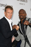 Dolph Lundgren,Terry Crews Royalty Free Stock Photography