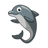 Dolphin. Vector illustration of a cute dolphin Stock Images