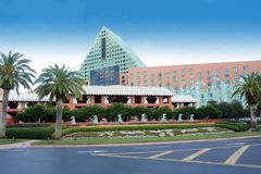 Dolphin Hotel at Walt Disney World (3) Stock Image