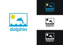 Dolphin Logo Stock Photography