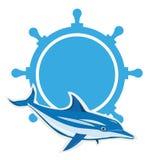 Dolphin logo Stock Photo