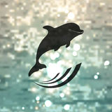 Dolphin logo Stock Images