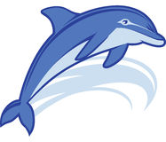 Dolphin Mascot Stock Images