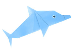 Dolphin origami Royalty Free Stock Photo