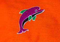 Dolphin print Royalty Free Stock Photos