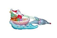 Dolphin sled Royalty Free Stock Photos