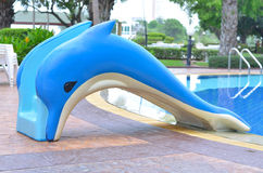 Dolphin slider Stock Photo