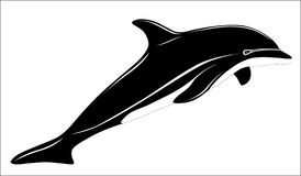 Dolphin, tattoo Royalty Free Stock Images