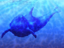 Dolphin underwater Royalty Free Stock Images