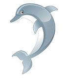 Dolphin. Vector illustration of a cartoon dolphin Stock Photography