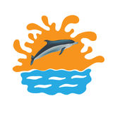 Dolphin vector illustration Royalty Free Stock Image