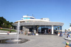 Dolphinarium em Odessa Foto de Stock