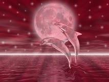Dolphins stock illustration