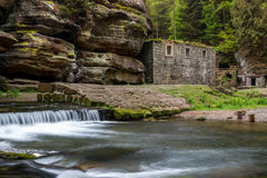 Dolsky Mill_Czech Switzerland Royalty Free Stock Photo